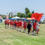 アメリカ日本語学校みなと学園運動会